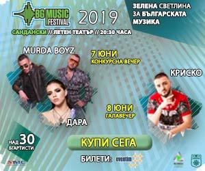 bg music festival 2019