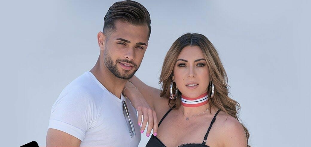Georgia Vrana in the arms of with Mr  Lebanon - Balkanika